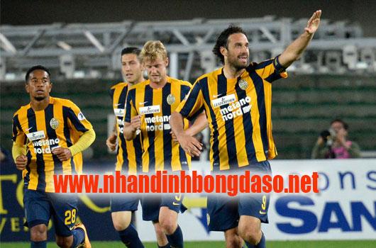 Chievo vs Hellas Verona www.nhandinhbongdaso.net