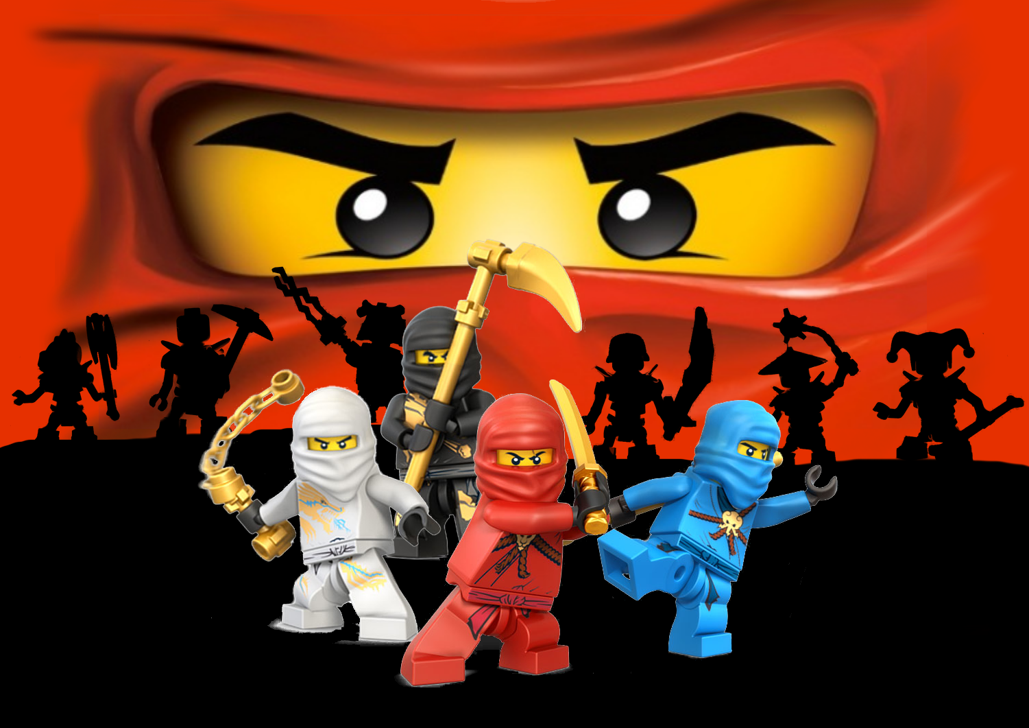 I Love Doing All Things Crafty Planning A Ninjago Birthday