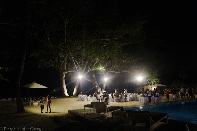 Blue Palawan at Night - FSRM Party 2015
