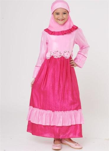 21 Model Baju Muslim Anak Perempuan Terbaru Trend Hijab Indonesia