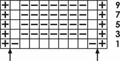 Узор квадраты