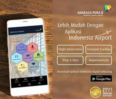 Aplikasi Penerbangan Pesawat Resmi Inonesia Airports