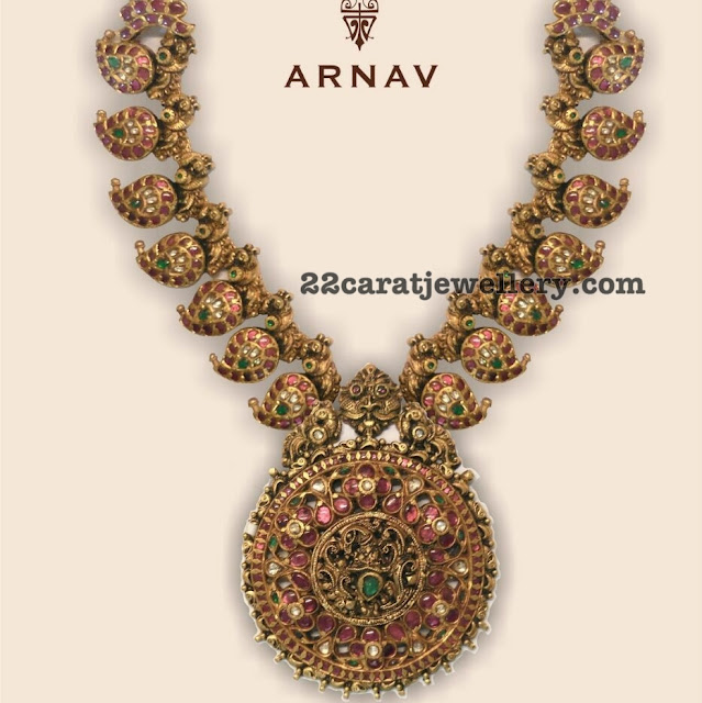 Nakshi Mango Set by Arnav Jewellery