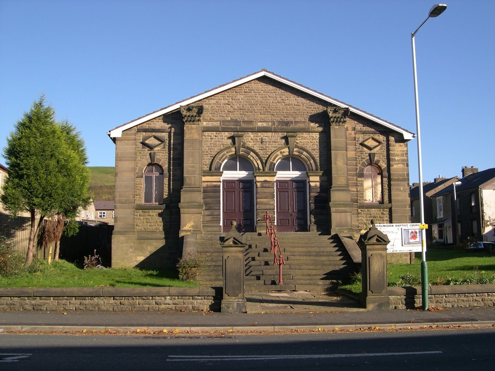 Haslingden Old and New...: The Baptist Church - Ebenezer Baptist and ...