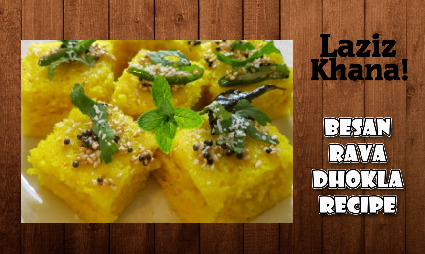 Dhokla Recipe in Roman English - Dhokla Banane ka Tarika