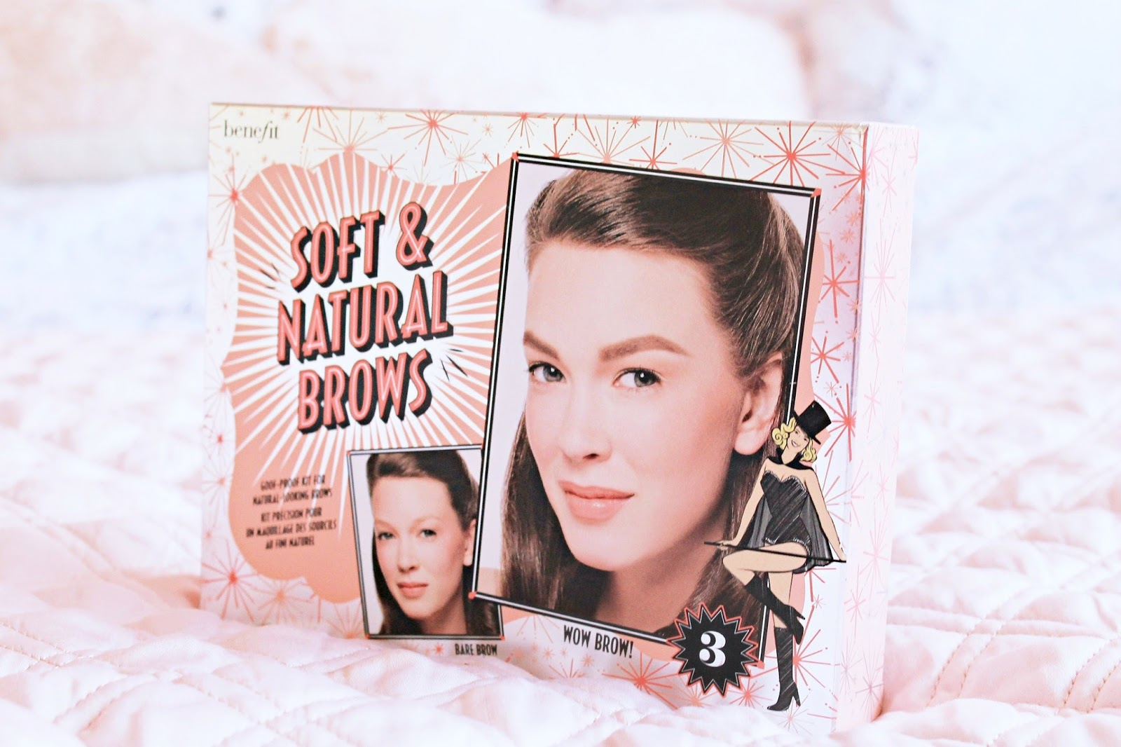 Benefit Cosmetics Soft and Natural brows kit review and swatches