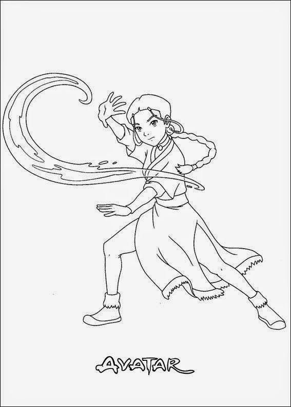 Desenhos Para Colorir E Imprimir Desenhos Do Avatar Para