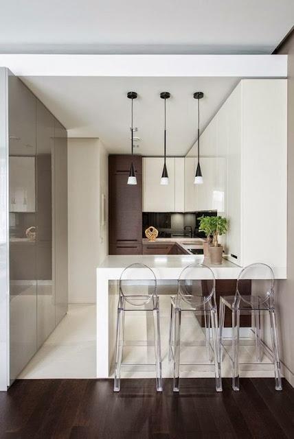 Kitchen With Bar 1