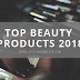 My Top Beauty Products 2018