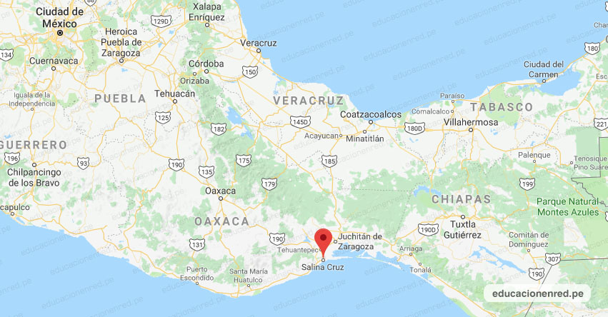 Temblor en México de Magnitud 4.6 (Hoy Lunes 20 Enero 2020) Sismo - Epicentro - Salina Cruz - Oaxaca - OAX. - SSN - www.ssn.unam.mx