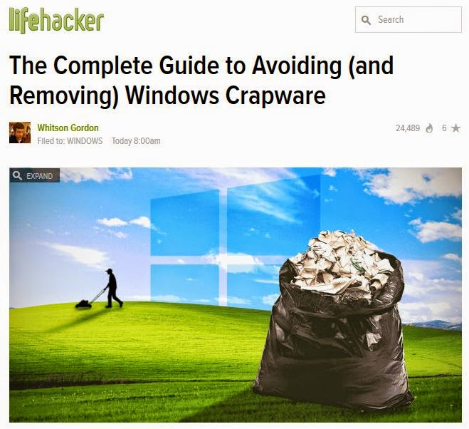 http://lifehacker.com/the-complete-guide-to-avoiding-and-removing-windows-c-1630577558