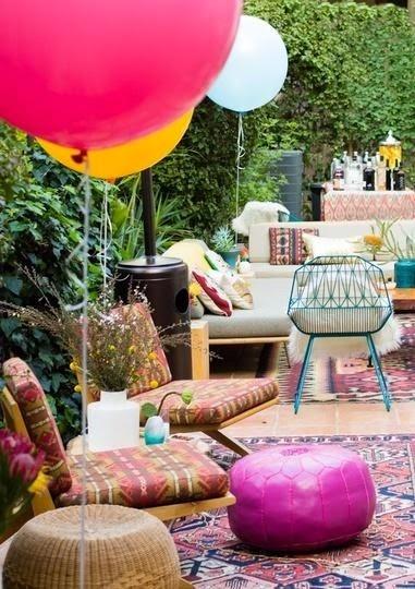 la fabrique d co sept id es boh mes pour le jardin la terrasse ou le balcon. Black Bedroom Furniture Sets. Home Design Ideas
