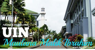 Daftar Fakultas dan Jurusan Universitas Islam Negeri Maulana Malik Ibrahim Malang