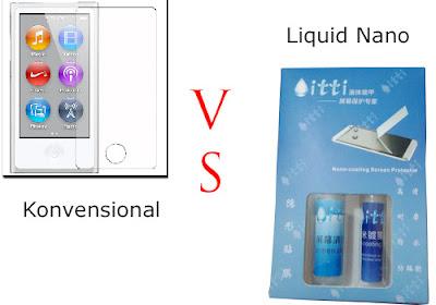 anti gores konvensional dibandingliquid nano