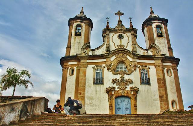 Igreja Nossa Senhora do Carmo, em Ouro Preto
