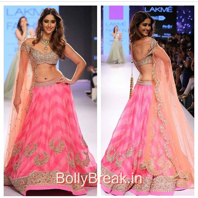 ileana d cruz at lakme fashion week , .