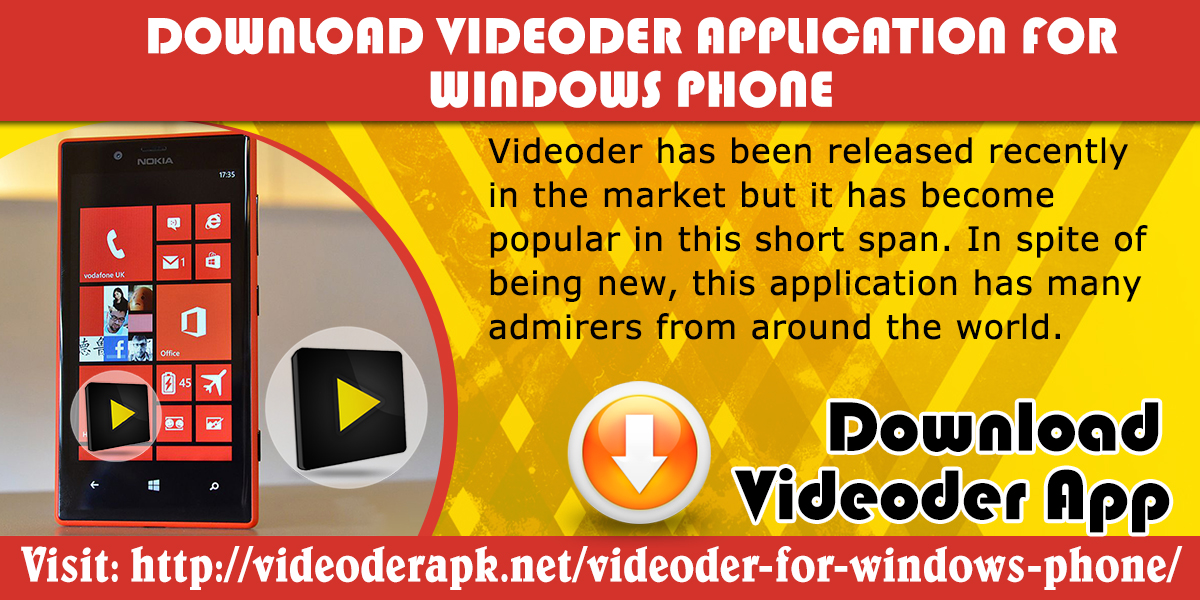 download videoder for windows