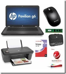 HP 15.6″ Home Starter Pack: Excellent Value in One Convenient Package