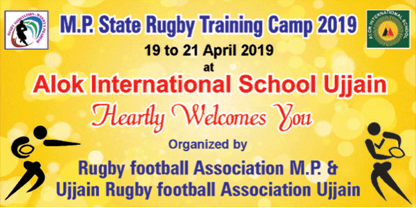 training camp in ujjain of rugby sports
