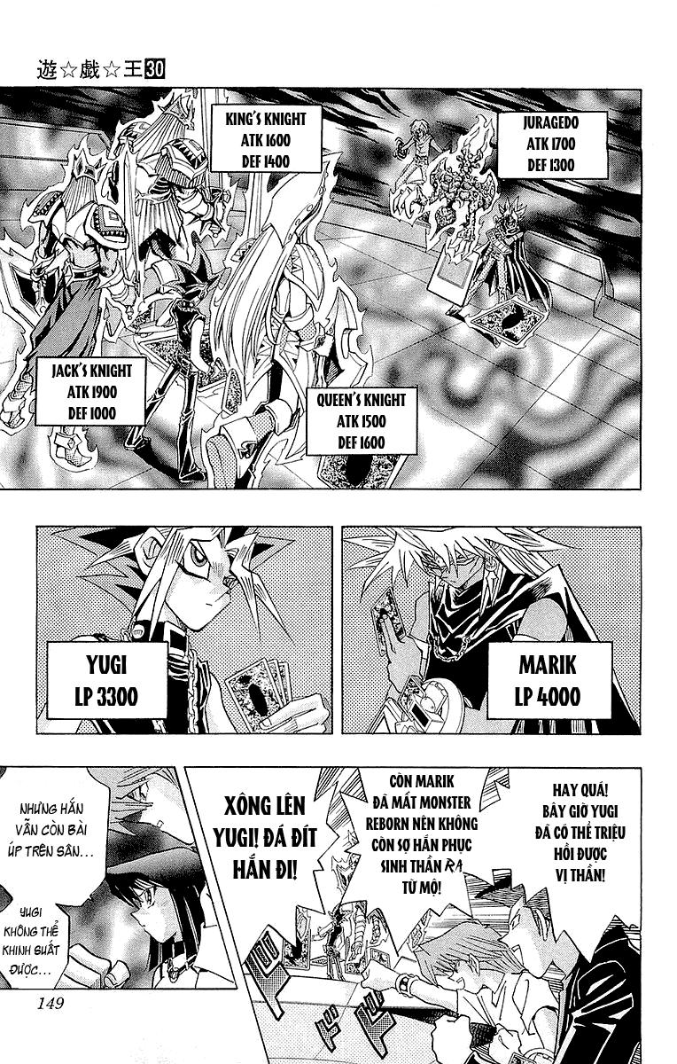 YUGI-OH! chap 267 - slifer và ra trang 4
