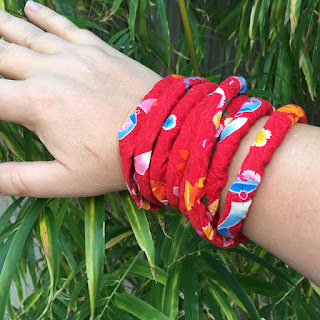 Japanese fabric wrist bands