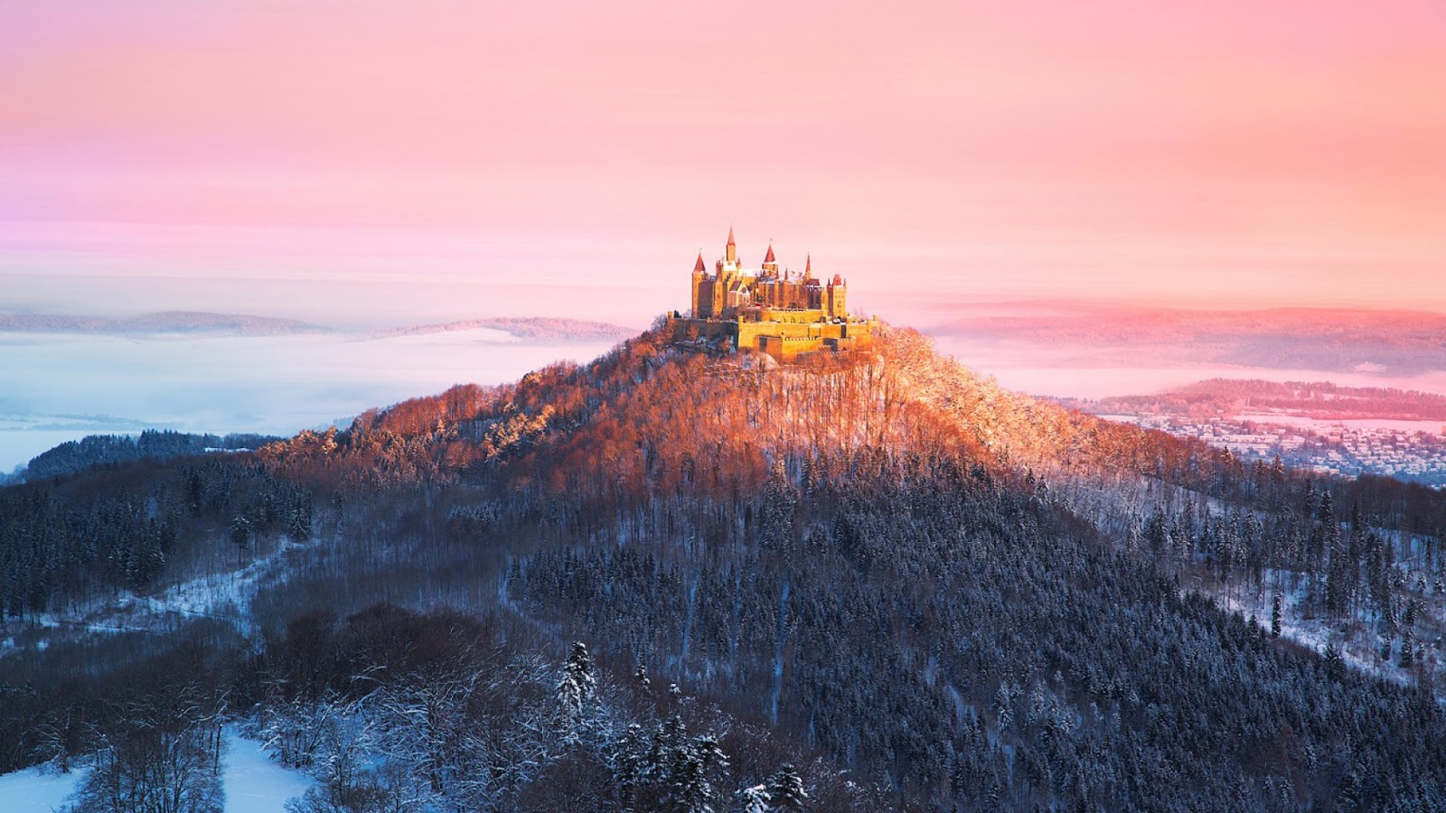Hohenzollern Castle- The Isolated Castle on the top of the ...