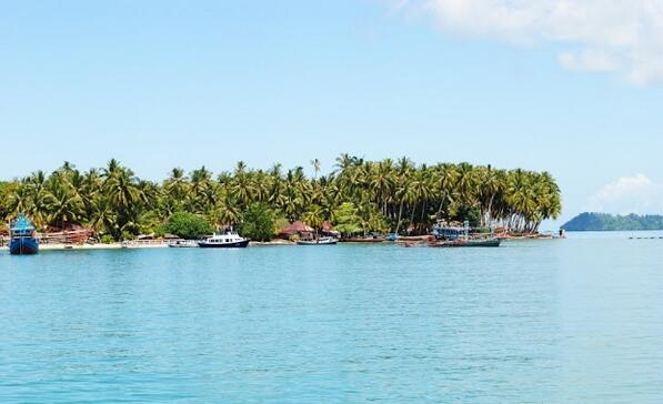 Pulau Panjang Air Bangis Wisata Di Pasaman Barat Sumbar Wisata Indonesia