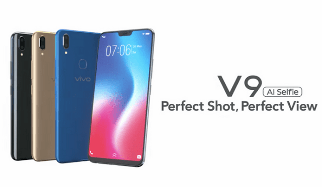 Vivo V9 Smartphone with 6.3″ 19:9 Display & 24MP Selfie Camera Launched