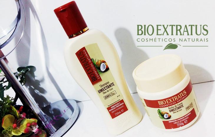 Shampoo e Máscara Óleo de Coco Bio Extratus