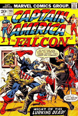 Captain America and the Falcon #166, mummies