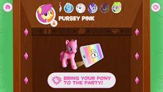 MLP Pursey Pink in the Friendship Celebration App