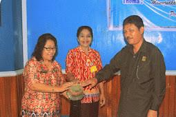 Dolarina de Breaving Buka Sosialisasi Pendewasaan Usia Perkawinan (PUP) di Kota Jayapura