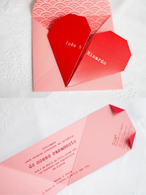 convite simples casamento