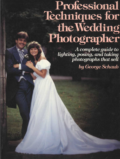 Portada libro: Tecnicas profesionales para fotografos de bodas
