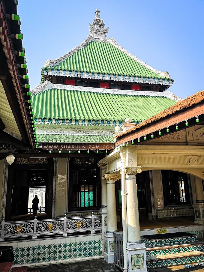 Mengintai Masjid Kampung Kling, Melaka