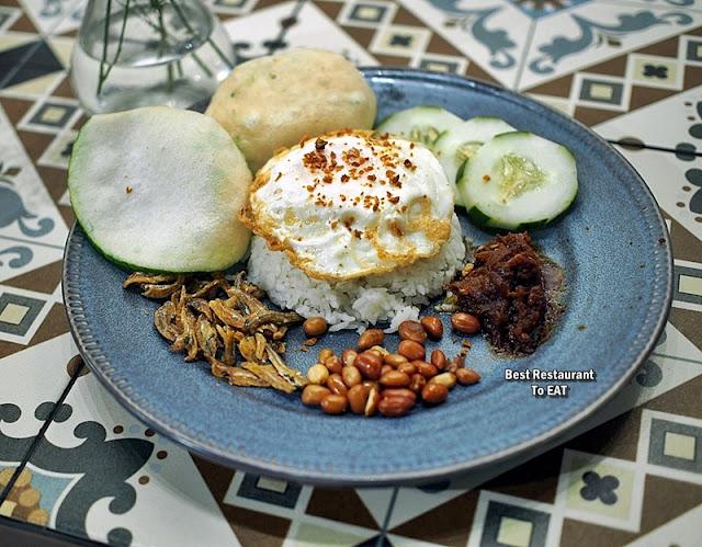 Luckin Kopi Petaling Street Menu - Nasi Lemak