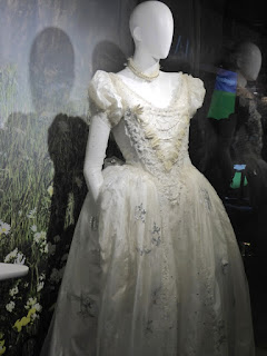 Alice through the Looking Glass White Queen gown