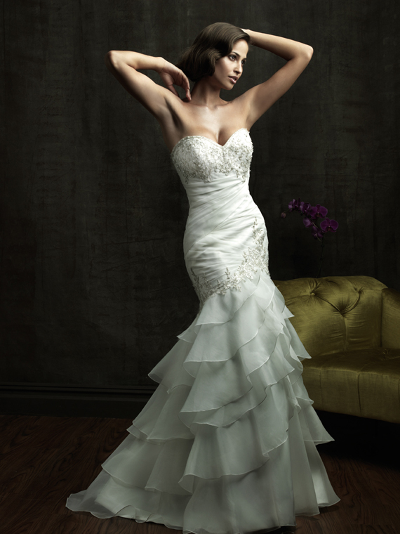 a57210b9a20 Elegant Strapless Wedding Dresses For Your Perfect Day