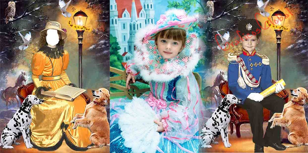 Fotomontajes Infantiles psd No16
