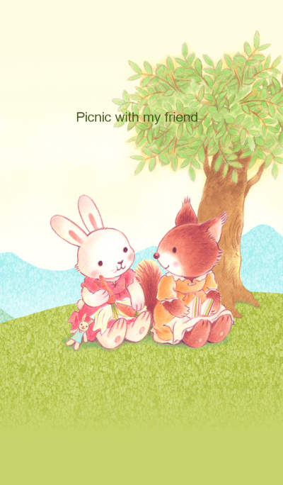 Go, we go for a picnic together