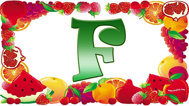 definisi istilah buah dari huruf f