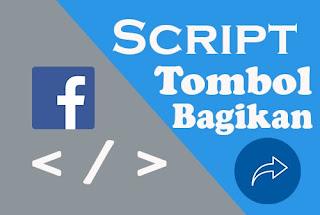 Cara Membuat Tombol Bagikan FB di Blog Keren Dengan Script