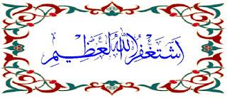astaghfirullaha 'adzim