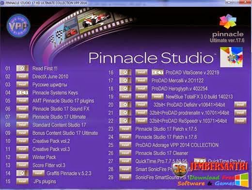 Pinnacle Studio 17 Ultimate Collection v17.6.0.332 VPP 2014