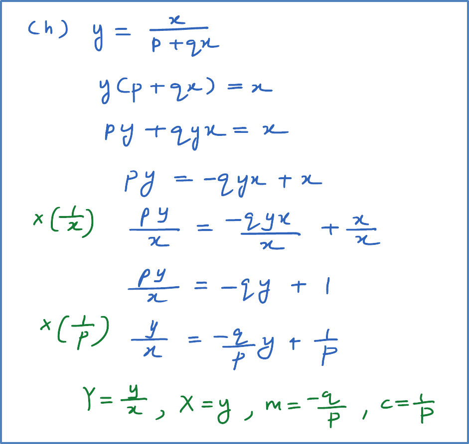 Reduce Non-Linear Function to Linear Function – Examples ...