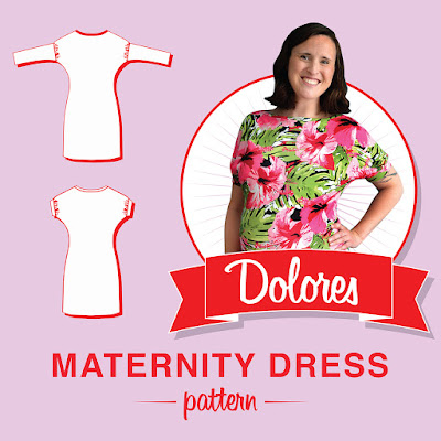 So, Zo...\': Dolores Maternity Dress Pattern