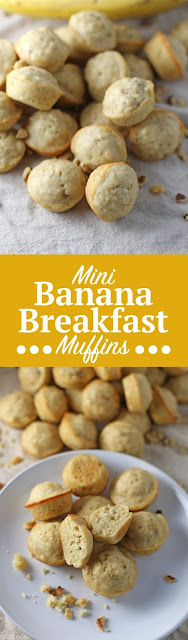 Mini Banana Breakfast Muffins
