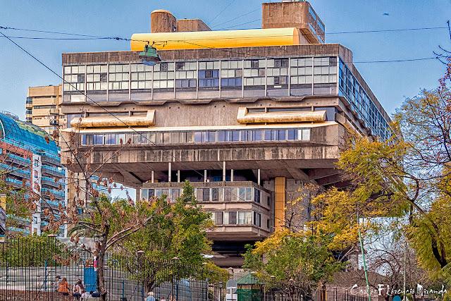Edificio de la Biblioteca Nacional