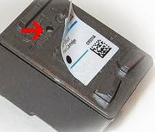 label ink cartridge