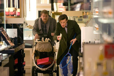 Dr Who, Closing Time, Matt Smith and James Corden
